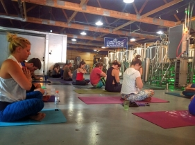 brewery yoga charleston